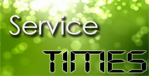 Weekly Service times